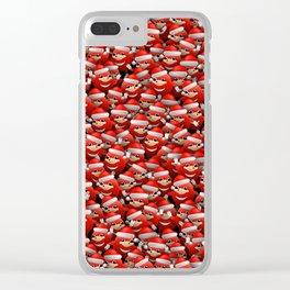 Christmas Da Way Clear iPhone Case