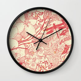 Libelo Libélula Wall Clock
