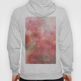 Watercolor Ranunculus Hoody