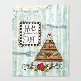 make yummy stuff Canvas Print