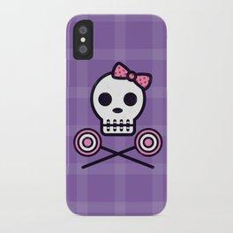 Skull Series SWEET TOOTH SKULL iPhone Case