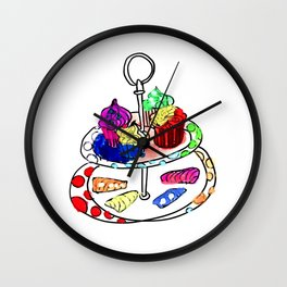 Oh, sweet! Cupcakes Wall Clock