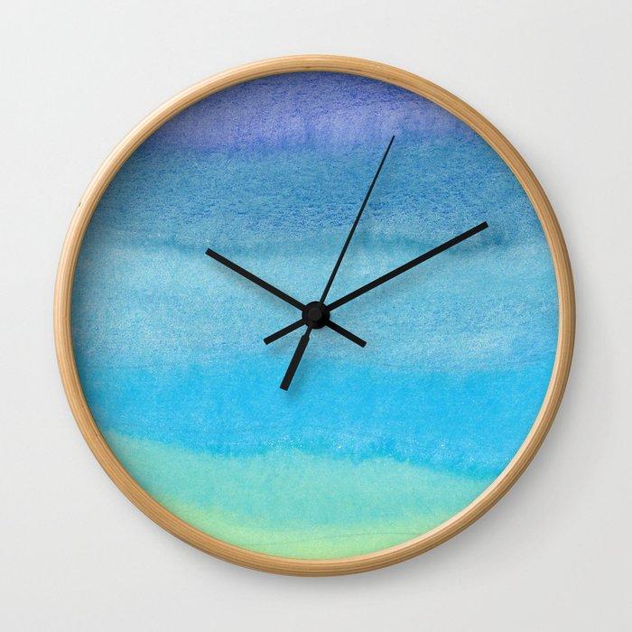 Water feelings Wall Clock