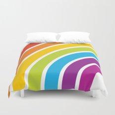 A Rainbow World Duvet Cover