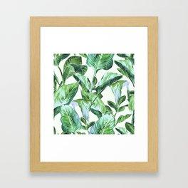 Isolde Leaves II Framed Art Print