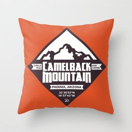 Camelback Mountain Throw Pillow