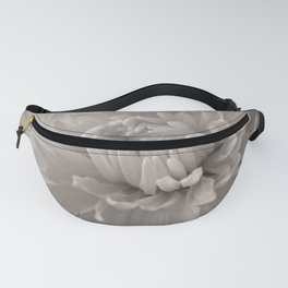 Monochrome chrysanthemum close-up Fanny Pack