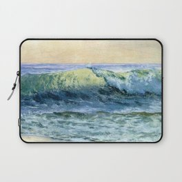 The Wave By Albert Bierstadt | Reproduction Painting Laptop Sleeve