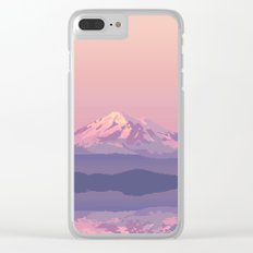 Mt Baker Clear iPhone Case