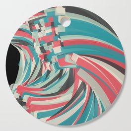 Chaos And Order Cutting Board
