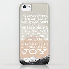 Psalm 65:8 iPhone 5c Slim Case