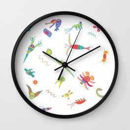 Plankton Wall Clock