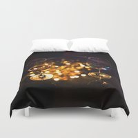 drunk Duvet Covers featuring Drunk x2 by Ivan Wong