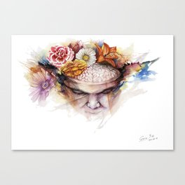 Tourette's Canvas Print