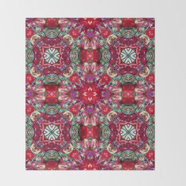Kaleidoscope 2 Throw Blanket
