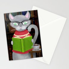 Kitty Corner Coffee And Reading Room Stationery Cards