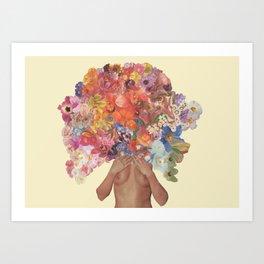 Fit Girl 001 Art Print