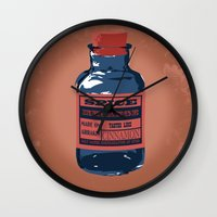 spice Wall Clocks featuring Spice Trade by Brady Terry