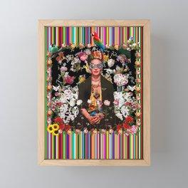 Frida OTT Kahlo You Are Too Much Framed Mini Art Print