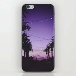 Tropical Summer Night iPhone Skin