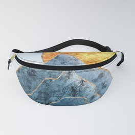 Sunset in the Volcanic Mountains Fanny Pack