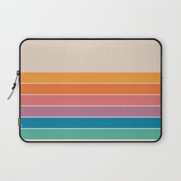 Boca Spring Stripes Laptop Sleeve