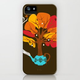 Tea Leaves iPhone Case