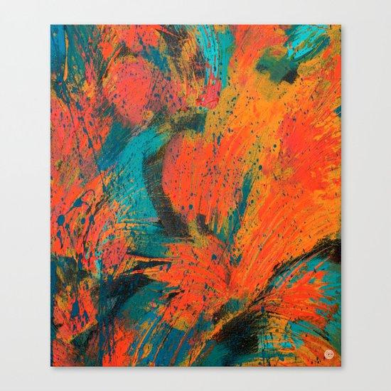 Palm Green Canvas Print