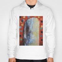 dick Hoodies featuring Moby Dick by Michael Creese