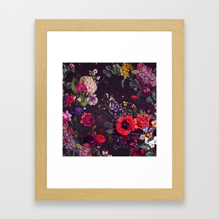 Astro Garden Framed Art Print