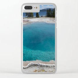 90W//25 Clear iPhone Case