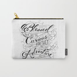 Blessed are the Curious Carry-All Pouch