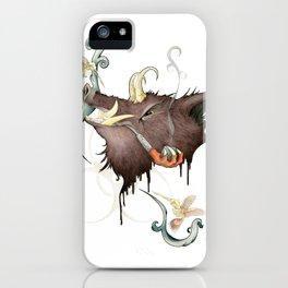 DemonBoar iPhone Case