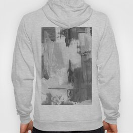 Paint (Black and White) Hoody