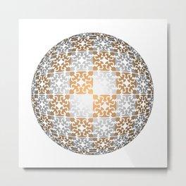 Ball filigrane 1 Metal Print