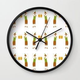 Oktoberfest Guys Wall Clock