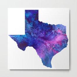 Texas galaxy Metal Print