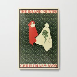 Christmas 1895 Metal Print