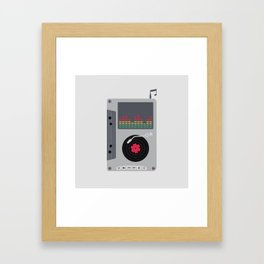 Music Mix Framed Art Print