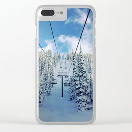 Chairway to Heaven Clear iPhone Case