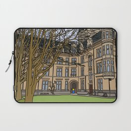 Cambridge struggles: Gonville and Caius College Laptop Sleeve