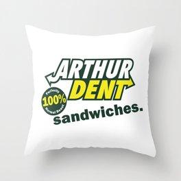 The Sandwich Maker Throw Pillow