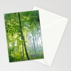 MM - Sunny forest Stationery Cards