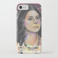 rose gold iPhone & iPod Cases featuring Rose Gold by totoderder