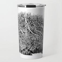 Leaf Hedgehog Travel Mug
