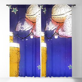 Flying Saucers bywhacky Blackout Curtain
