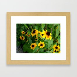 Don't Worry Be Happy Framed Art Print