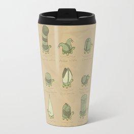 A Study of Turtles Travel Mug