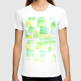 180527 Abstract Watercolour 21| Watercolor Brush Strokes T-shirt