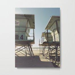 Oceanside Beach Metal Print